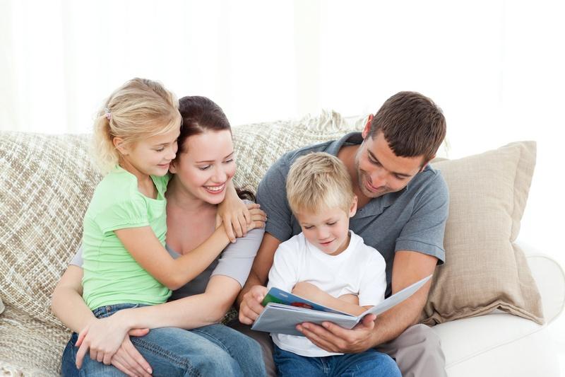 Семейное чтение книг