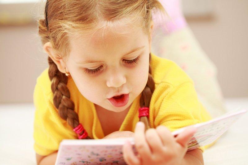 Ребёнок Медленно Читает
